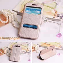Case For Samsung Galaxy A3 2015 A300 Fashion Leather Window View Holster Holder Phone Bag For Samsung A3 Mobile Phone Coque Capa