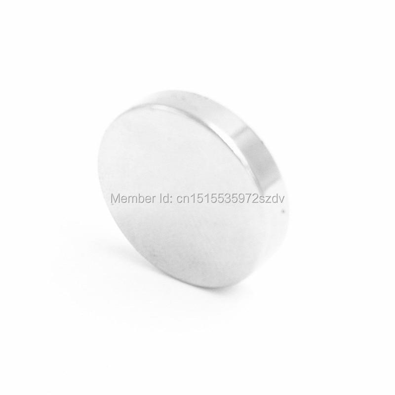 2pcs Strong Round Dia 50mm x5mm N35 Rare Earth Neodymium Magnet Art Craft Fridge free shipping earth 2 vol 5