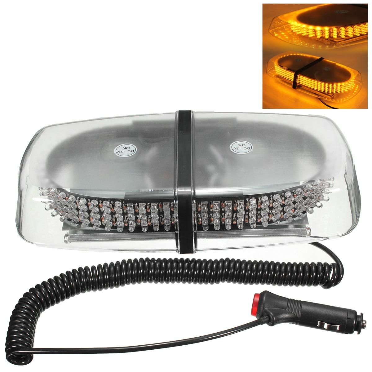 240 led law enforcement emergency warning Mini Strobe Light Roof 12V lethe s law