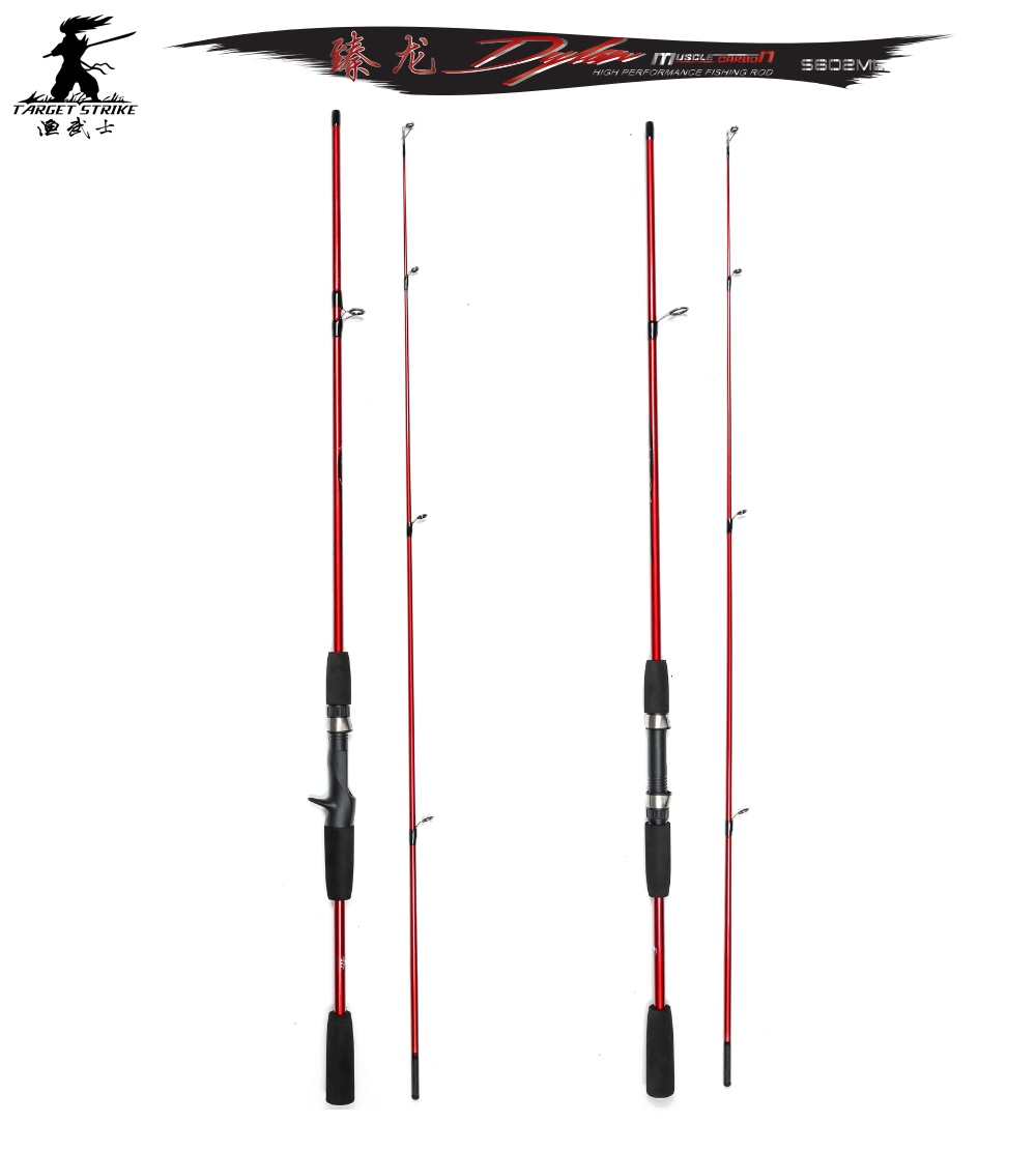 Target strike brand spinning and casting rod in for Best fishing pole brands