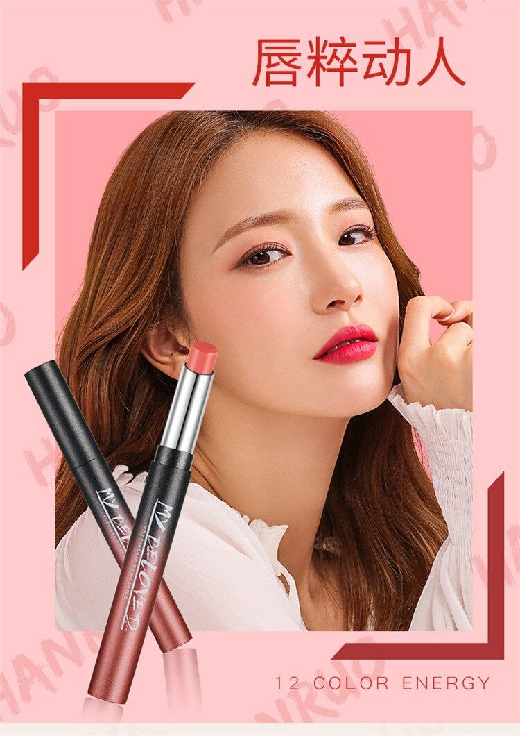 Rouges à lèvres Mat Llipstick Durable Velours Lèvres de Teinte Lèvres Maquillage D'anniversaire Édition Collection