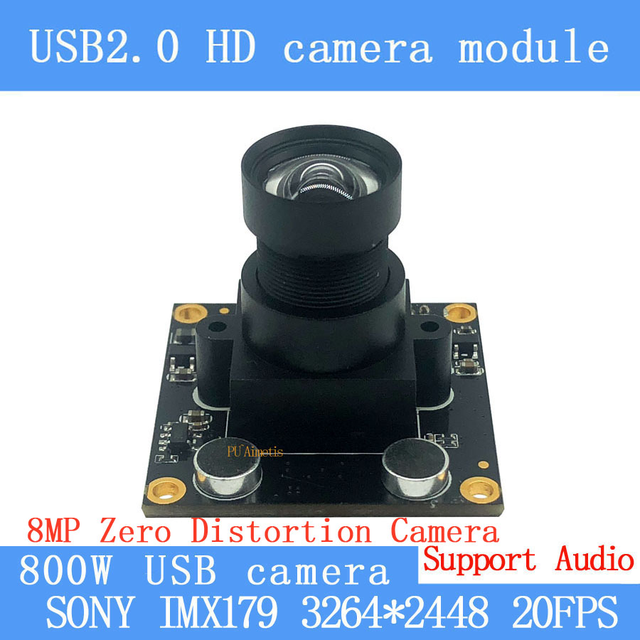 75degree CCTV Zero distortion Physics high quality 8mp MJPEG SONY IMX179 usb camera module Android Linux Windows Support audio75degree CCTV Zero distortion Physics high quality 8mp MJPEG SONY IMX179 usb camera module Android Linux Windows Support audio