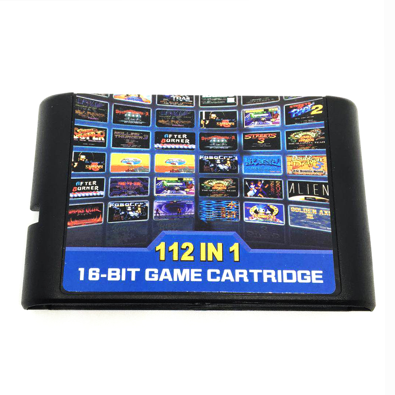 все цены на 112 in 1 Hot Game Collection For SEGA GENESIS MegaDrive 16 bit Game Cartridge