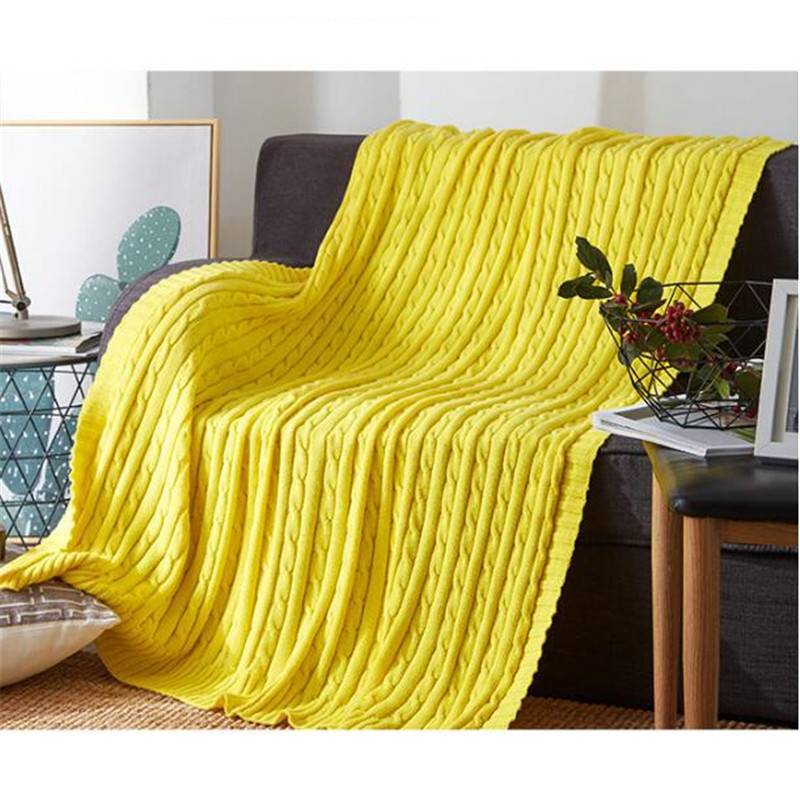 120*180cm Soft Blankets for Beds Blanket Bedspread Bedding Knitting Blanket Air Conditioning Comfy Sleeping Bed Bedspreads 120 x 180cm soft cotton knitted blankets for sofa bed office