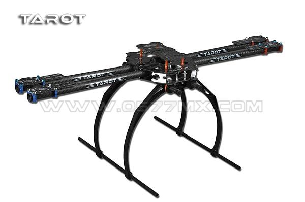 F05544 Tarot FY680 650 4 Axis Folding 3K Carbon Fiber Aluminum Tubes Frame Kit TL65B02 For