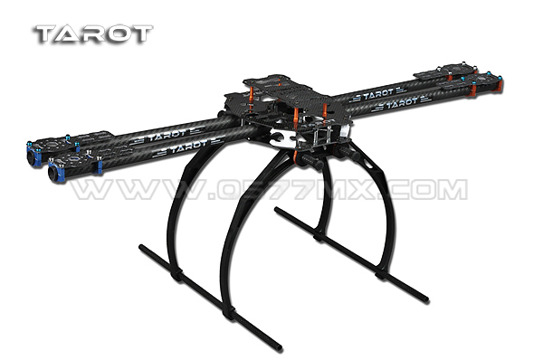 F05544 Tarot FY680 650 4-Axis Folding 3K Carbon Fiber Aluminum Tubes Frame Kit TL65B02 For Quadcopter Aircraft tarot 650 4 axle folding 3k carbon fiber aluminum tubes frame kit tl65b02 for quadcopter aircraft f05544