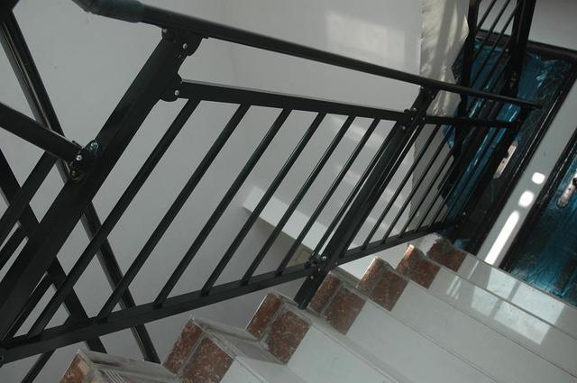 Stairs Balustrades With Galvanized Steel,Top Railing 60*30*1.1mm,horizontal