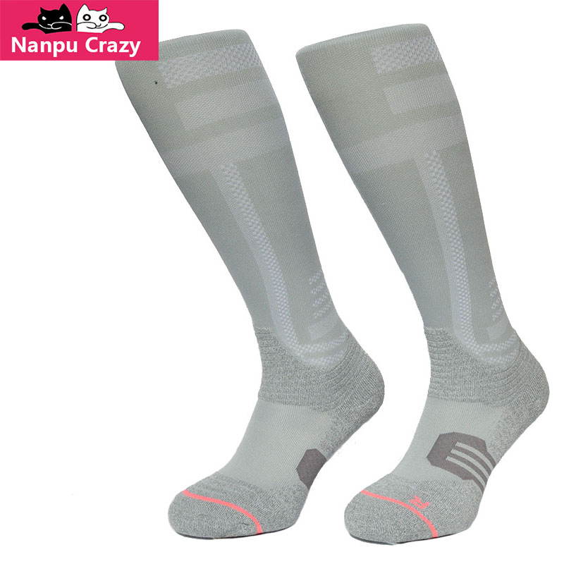 MURIEL Aero-Blend Skiing Compression Socks for Women Nylon Breathable Reinforced Toe And Heel Running Socks