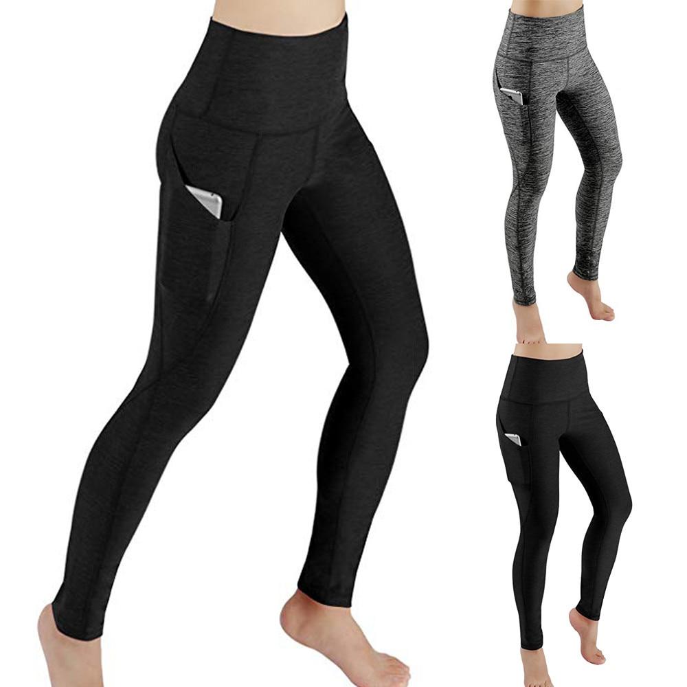 Womens Yoga Pants Workout Leggings High Waisted Capris Tummy Control Gym Running Leggings Flying Eagle