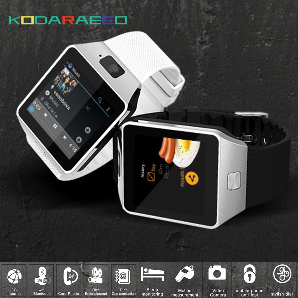 Qw09 smart watch men reloj android 4.4 bluetooth wifi dual core 1.2 GHz ROM 4 GB RAM 512 M Smartwatch phone Para Android iOS