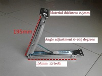 1tilt Bracket 2 Hinges LOT Adjustable Angle Tilt Bracket And Hinges For Drawing Board Desk