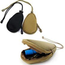 12500bb3ed7 EDC Mini Sleutel Portefeuilles Houder Mannen Portemonnees Pouch Militaire  Leger Camo Tas Kleine Pocket Sleutelhanger Rits