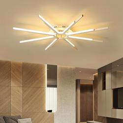 Художественная линия креативная современная светодиодная люстра акриловая гостиная атмосфера дома индивидуальный светильник