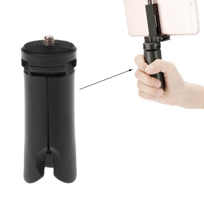 Universal Mini Tripod Stand 1/4 ''untuk Smartphone Action Camera Holder Monopod