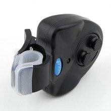 1pcs Electronic Fish Bite Sound Alarm LED Light Alert Bell Fishing Rod Clip-On free shipping Hot Selling
