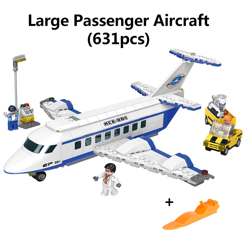 XINGBAO 16003 NEW Space Exploration Large Passenger Aircraft Aerospace Model MOC Building Blocks Bricks With Logo Boy Gift Toys in Blocks from Toys Hobbies