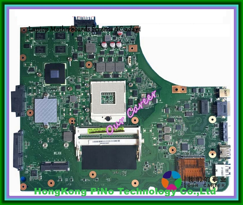 ФОТО Free shipping K53SD laptop motherboard For Asus K53SD Main board REV 5.1 Tested Good