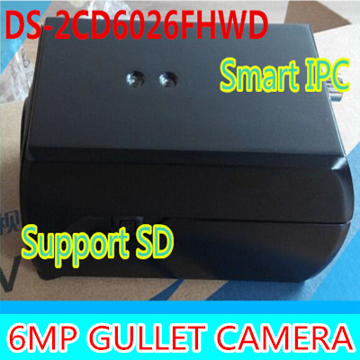 цена на Brand Free shipping by DHL New 2 million low-light webcam DS-2CD6026FHWD Star-class support SD