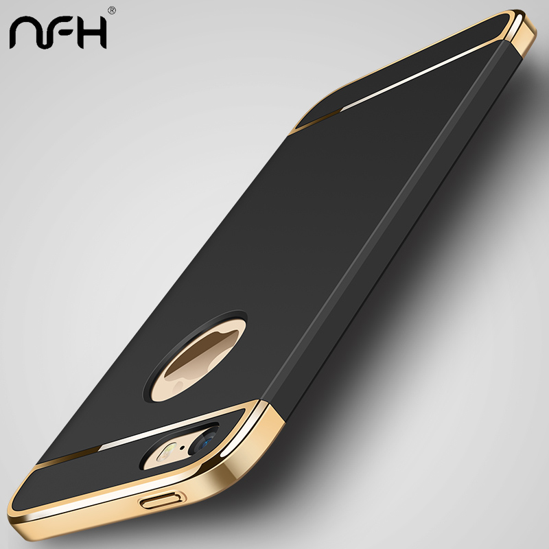 NFH For iPhone 5 5S Sak Mote Silikon deksel Original for iphone På 5 5s SE 5se Luksus Silm Beskyttelse Telefon Soft Shell