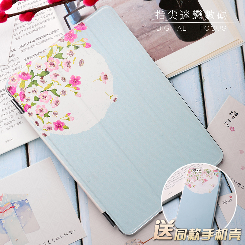 Elegant orchid Flip Cover For iPad Pro 9.7 Air Air2 Mini 1 2 3 4 Tablet Case Protective Shell
