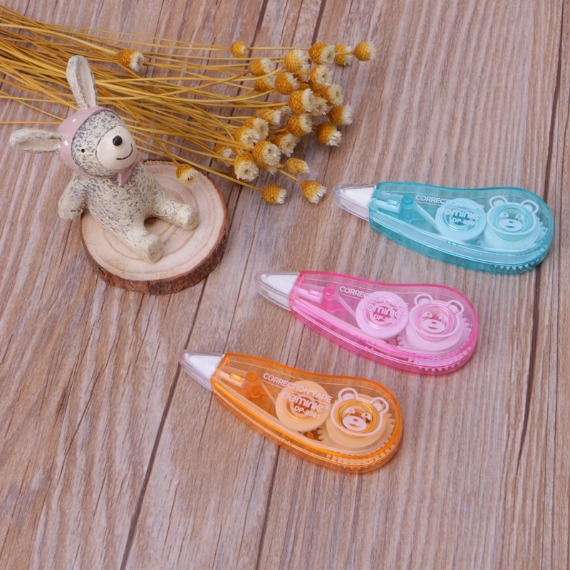 1pcs Roller Correction Tape Decorative White Out School Office Supply Stationery