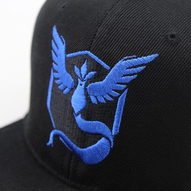 Pokemon Go Team Valor Team Mystic Team Instinct baseball Cap