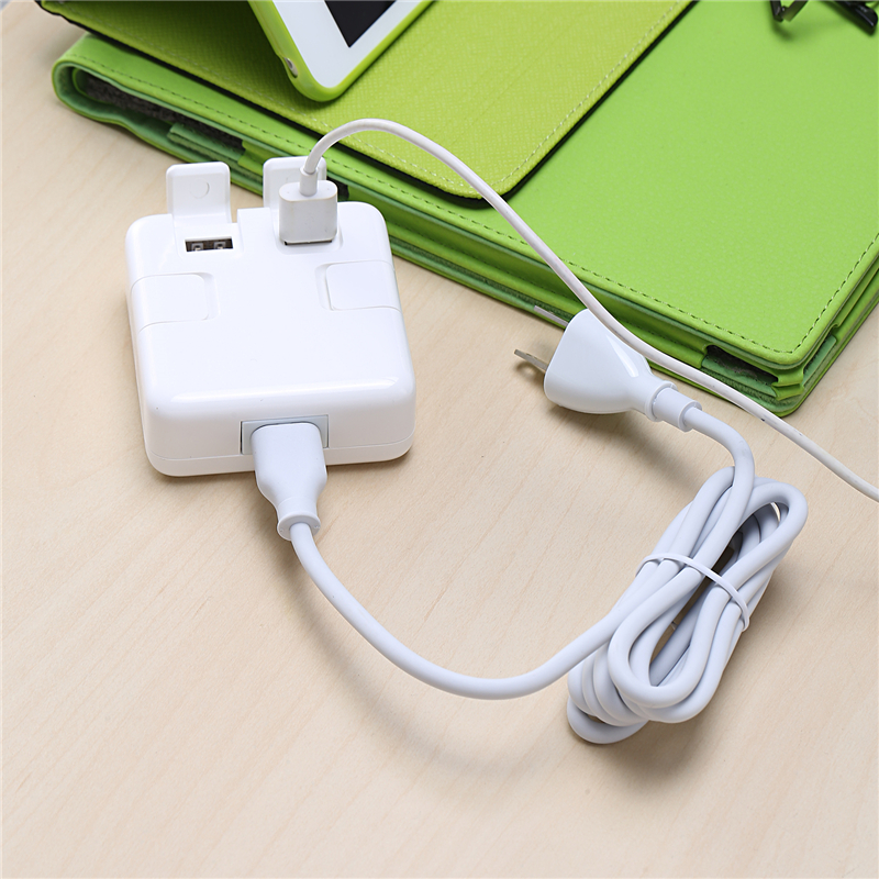 USB Wall Charger 4 Ports 5V 4A AC Power Adapter EU/US/UK plug Travel Home USB Charger for iphone Mobile Phone Charger 1.5m Cable