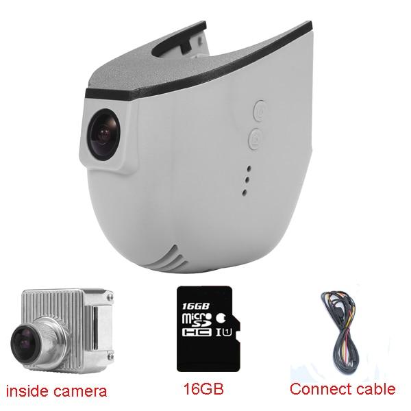 Car DVR Dash Cam recorder for Audi Car (year2013-2015) S5 S7 S8/A1 A3 A4 A5 A6 A7 Q3 Q5 With WIFI+16GB+1080P+170degree