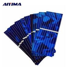 Carregador de Bateria do Carro Painel Solars Aiyima 100 PCS Solar Cell 0.5 V 320ma COR Cristal Module DIY Poder Banco DA China