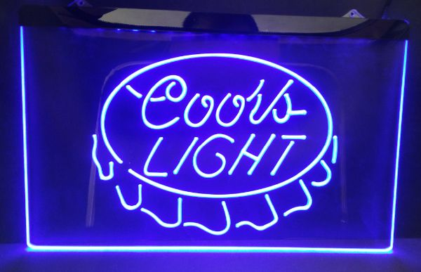 Coors light beer bar pub club 3d signs led neon light sign home coors light beer bar pub club 3d signs led neon light sign home decor crafts in plaques signs from home garden on aliexpress alibaba group aloadofball Choice Image