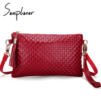 Genuine Leather Women Day Clutch Bags Real Skin Cowhide Envelope Small Shoulder Bags Organizer Purse Ladies