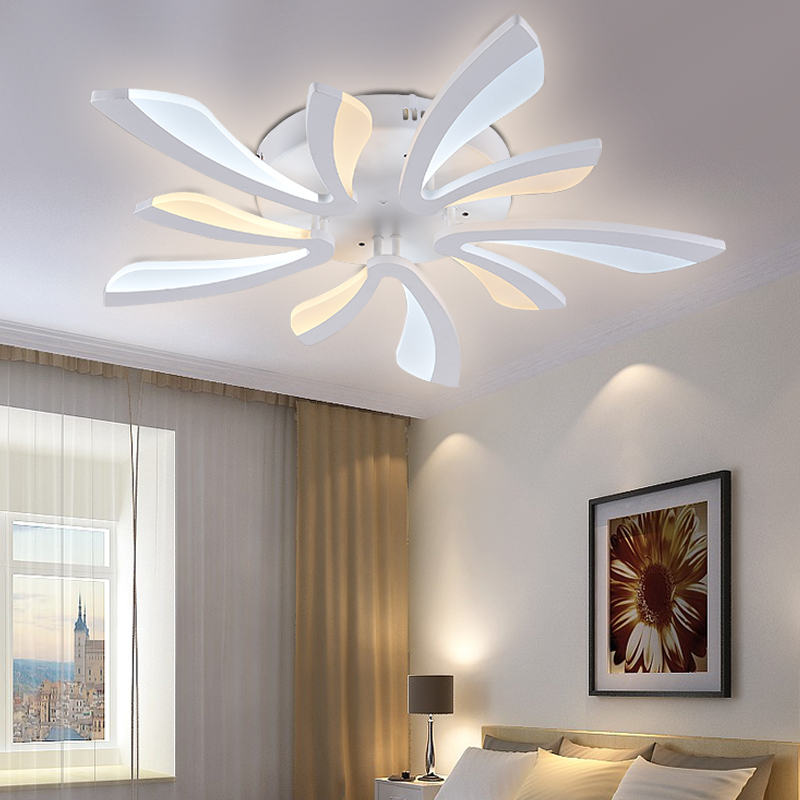 New acrylic modern led ceiling lights for living room bedroom led new acrylic modern led ceiling lights for living room bedroom led home lighting ceiling lamp home lighting light 85 265v in ceiling lights from lights aloadofball Images