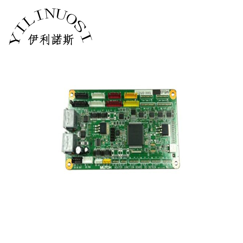 New Mutoh VJ-1608 Hybrid Heater Junction Board 2 printers mutoh vj 1604w rj 900c water based pump capping assembly solvent printers