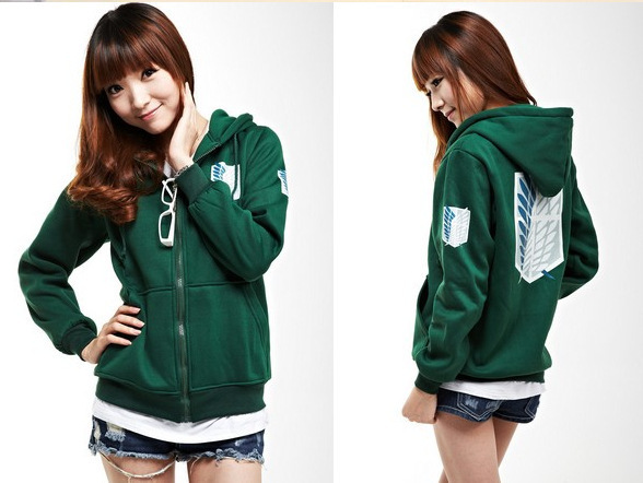 Anime Attack on Titan Cosplay Hoodie