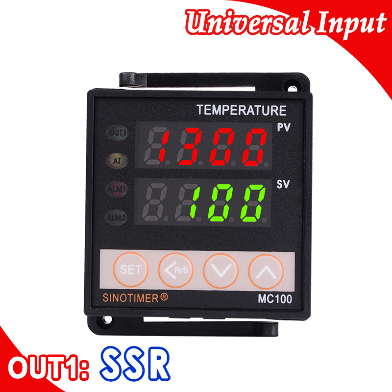 Digital PID Temperature Controller Thermocouple K PT100 Input 12V DC Voltage Output for SSR Solid State Relay Heating or CoolingDigital PID Temperature Controller Thermocouple K PT100 Input 12V DC Voltage Output for SSR Solid State Relay Heating or Cooling