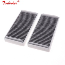 Cabin Filter For Mercedes benz S CLASS W220 S280L S320L S350L S500 S600L 2000 2005 Model Activated Carbon Filter Car Accessories