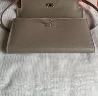 Брендовые женские кошельки Матовый кожаный бумажник женский кошелек для монет кошелек женский держатель для карт браслет небольшая сумка