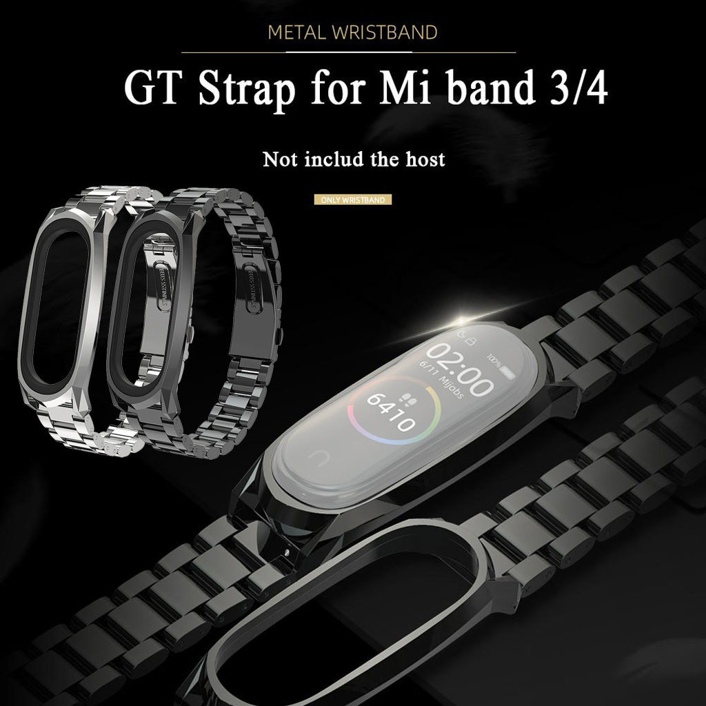 Mesh-Belt Wristband-Band-Strap Mi-Band Stainless-Steel Xiaomi for 4-Purchasing/purchasing