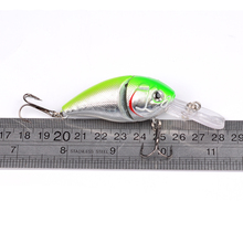 1PC 2 Sections Fishing Lure 0.5oz-14.15g/8.5cm-3.35″ Crank Bass Bait 6# Black Hook Fishing Tackle DHC002