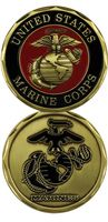Custom coins low price Military United States Marine Corps Seal with Logo Challenge Coin  oem metal milirary coins FH810232