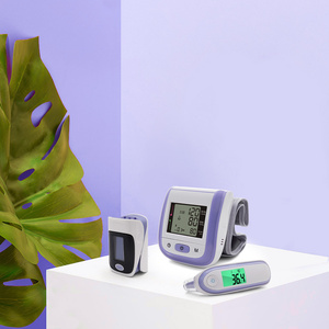 Image 5 - Yongrow Digital Fingertip Pulse Oximeter SpO2 Wrist Blood Pressure Monitor Ear Infrared Thermometer Family Health Care Oxygen PR