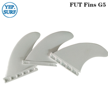 Surfing Plastic Future Fins G5 White color Fin Hight Quality