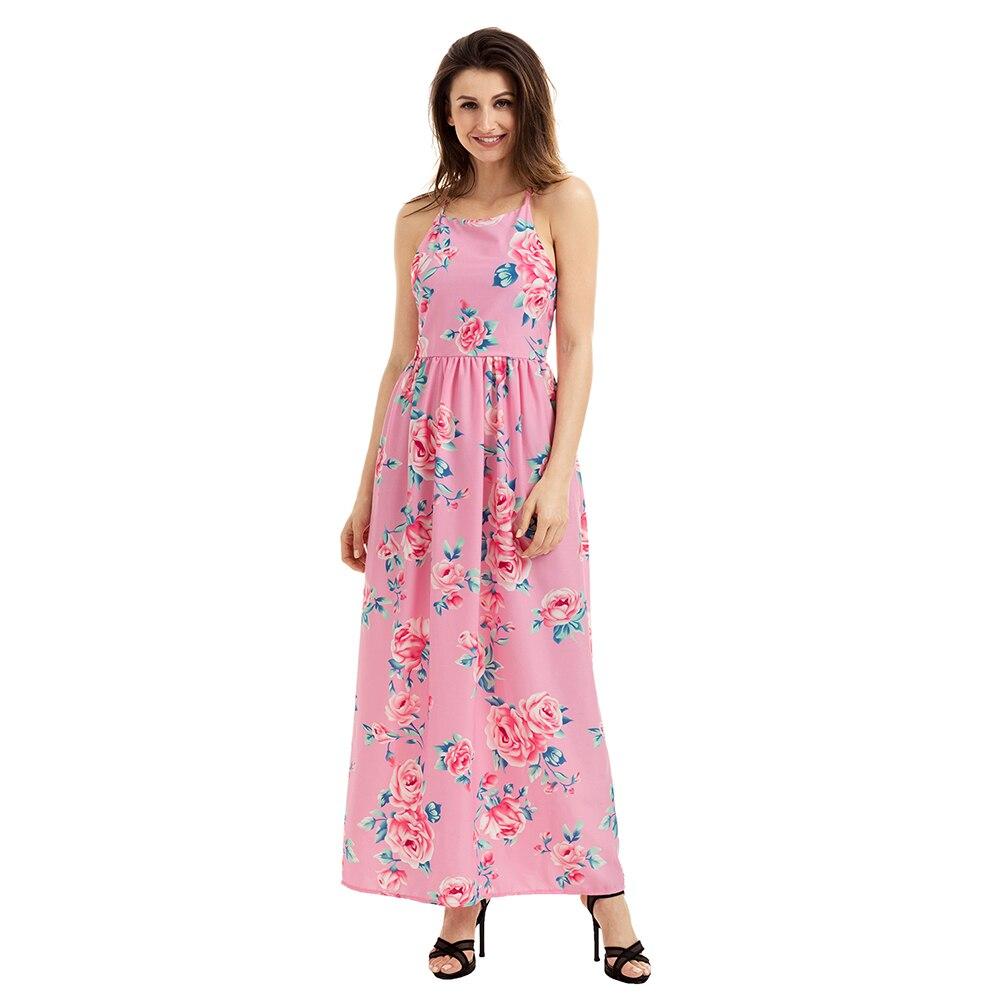Compra gargantilla de las mujeres del vestido de playa de verano ...