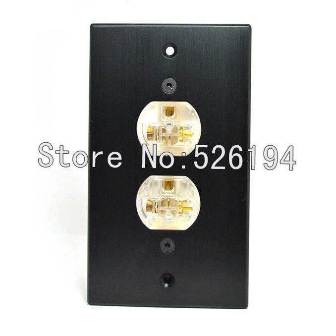 Livraison gratuite un pcs AC-105B Acrolink Aluminium rouge cuivre AC climatiseur plaque murale onepieces