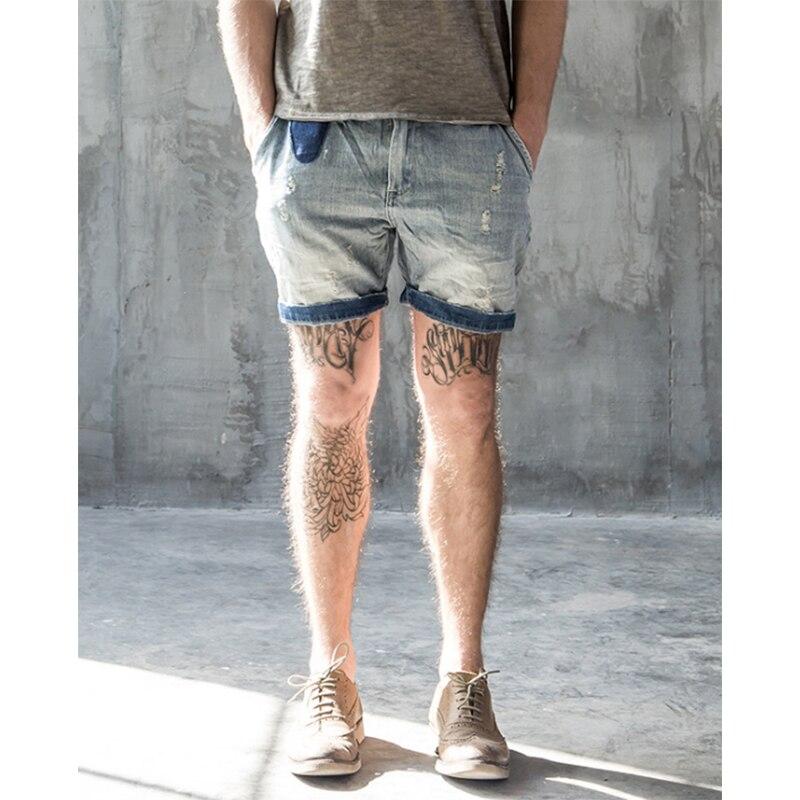 Aliexpress.com : Buy 2017 Summer Mens Denim Shorts RRL Bermudas ...