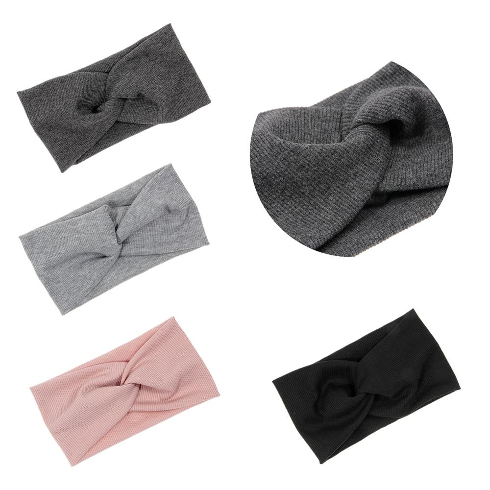 Nishine Widened Hair Bands Spiral Double Cloth Knit Ornaments Kids Girls   Headwear   Fashion Headbands Hair Accessories