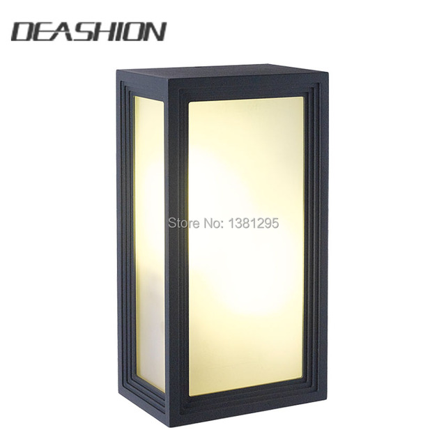 Modern Outdoor Lighting Wall Lamps E27 LED Wall Light IP54     Modern Outdoor Lighting Wall Lamps E27 LED Wall Light IP54 Waterproof exterior  Porch lights House Outside
