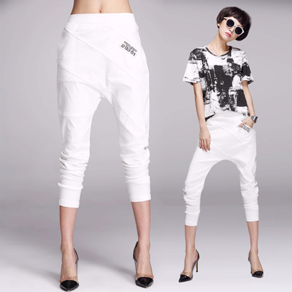 Popular White Pants Womens-Buy Cheap White Pants Womens lots from ...