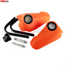 Vision Led Handguards Hand Guard with light For KTM EXC EXCF XC XCF XCW XCFW MX EGS SX SXF SXS SMR Enduro FreeRider Six days mostorcycle vision led handguards hand guard with light fit supermoto for ktm adv duke lc4 200 640 690 990 smr free shipping