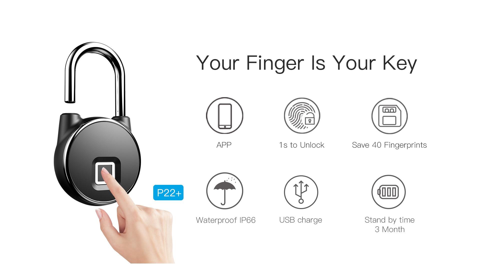 HTB1Z7tzXlCw3KVjSZFuq6AAOpXa8 Portable bluetooth Lock Smart Padlock Keyless Fingerprint Lock Anti-Theft Security Door Padlocks for Bag Drawer Suitcase